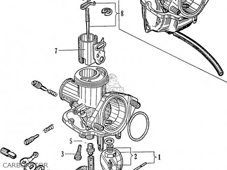 Honda C110 Carburetor