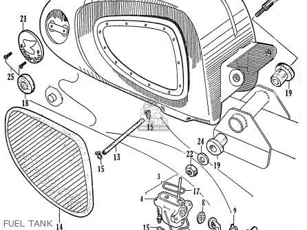 Honda C110 Fuel Tank