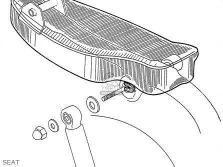 Honda C110 General Export 140115 Seat