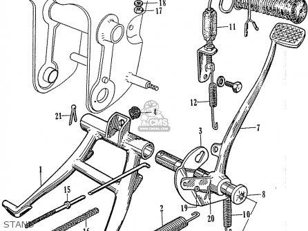 Honda C110 Stand