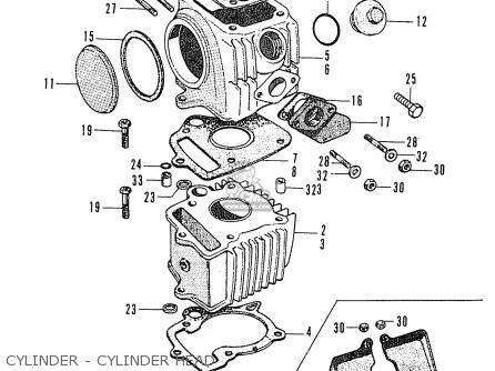 Admirable Honda C50 Cub 1969 England Parts Lists And Schematics Wiring Digital Resources Funiwoestevosnl
