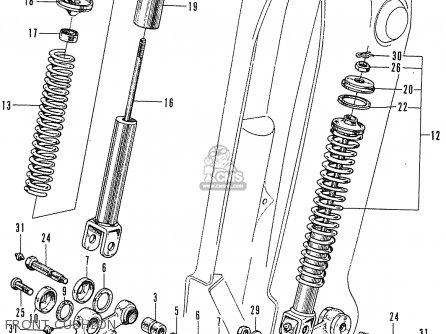Honda Dealership Ma >> Honda C50 CUB 1969 ENGLAND parts lists and schematics