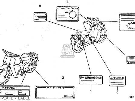 honda sl125 wiring diagram honda sl125 parts wiring