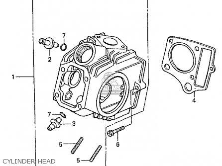 Honda C50l Little Cub 2000 y Japan Cylinder Head