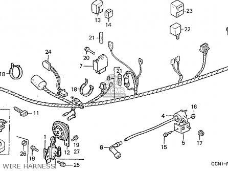 Honda C50l Little Cub 2000 y Japan Wire Harness