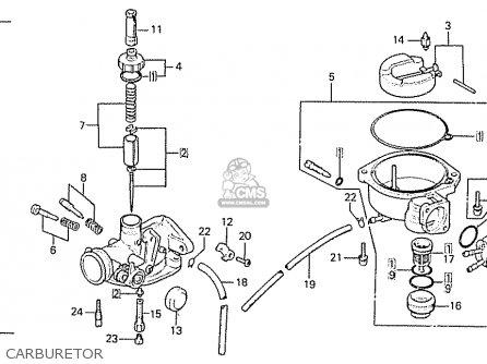 Honda C50lae england Carburetor