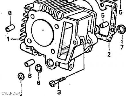 Honda C50lm Little Cub 1999 x Japan Cylinder