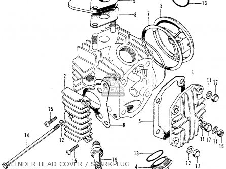 Honda C70 Honda 70 K1 Usa Parts Lists on honda passport intake manifold diagram