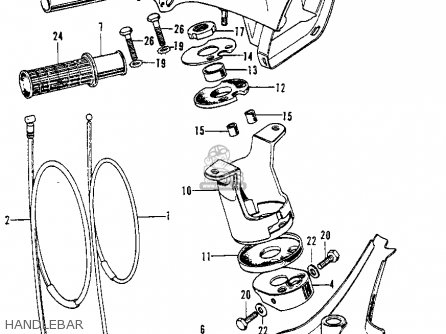 1970 honda ct70 wiring diagram 1970 honda ct90 wiring