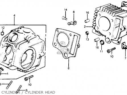 honda c70 passport 1980 (a) usa parts list partsmanual ... 1980 honda c70 wiring
