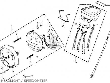 Honda c70 passport 1980 a usa parts lists and schematics honda c70 passport 1980 a usa headlight speedometer headlight speedometer asfbconference2016 Choice Image