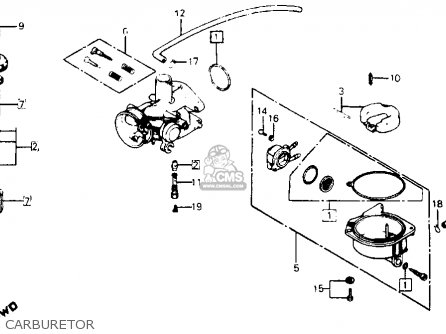 Honda C Passport Usa Carburetor Mediumhu E A A C on Honda Atc 110 Wiring Diagram