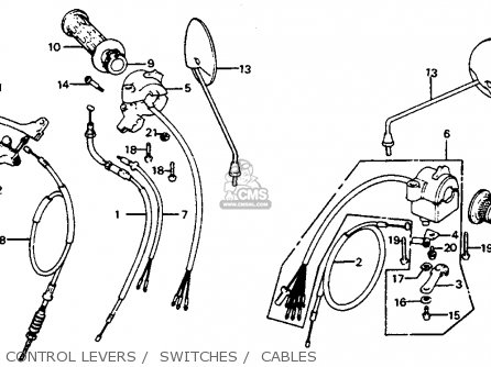 honda c70 passport 1983 (d) usa parts lists and schematics 1983 mustang gt wiring diagrams 1983 honda c70 wiring diagrams