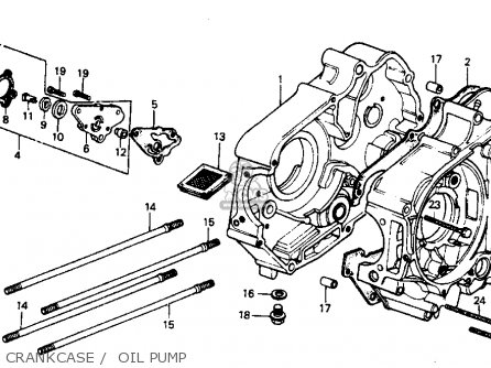 Honda C70 Passport 1983 D Usa Parts Lists And Schematics