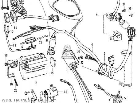 Honda C70 Wiring