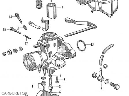 Honda C72 Carburetor