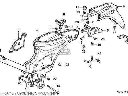honda c100 engine diagram honda c70 engine wiring diagram