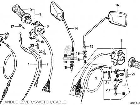 Honda C90 Cub 1992 N England Parts Lists And Schematics