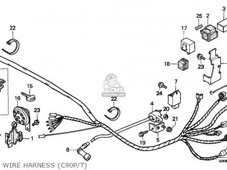 honda c90 cub 1993 p greece parts lists and schematics. Black Bedroom Furniture Sets. Home Design Ideas