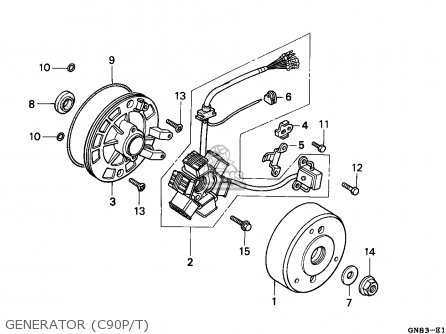 Honda C90 Electric Start Wiring Diagram on honda cb750 wiring diagram