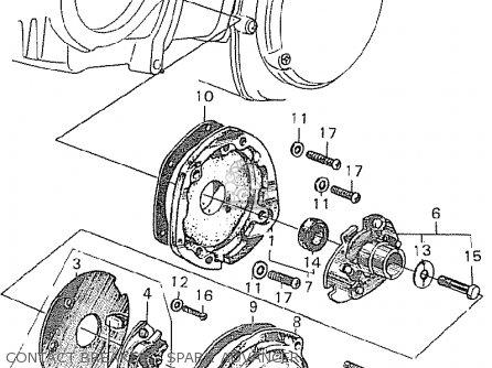 Honda C90 Cub England Contact Breaker - Spark Advancer