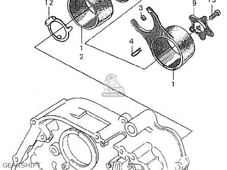 Honda C90 england Gearshift