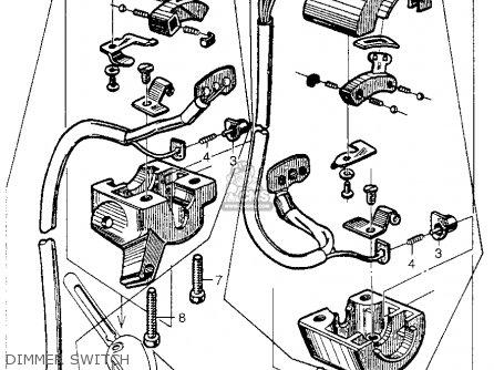 Honda Ca100 1962 Usa Dimmer Switch