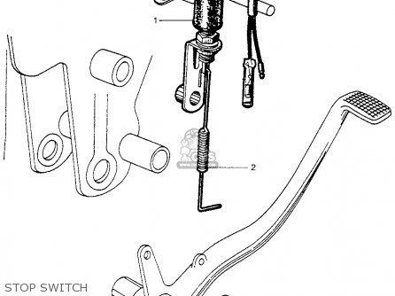 Honda Ca100 1962 Usa Stop Switch