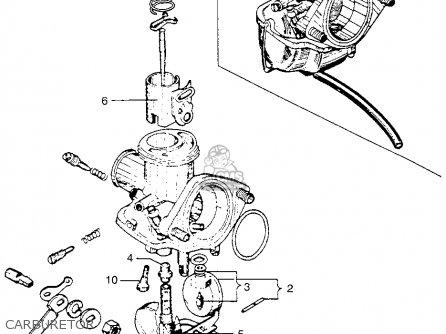 Honda Ca110 1962 Usa Carburetor
