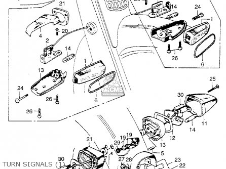 Honda Ca110 1962 Usa Turn Signals 1
