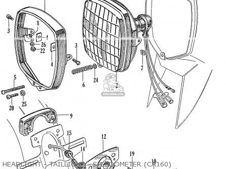 honda ca160 wiring diagram detailed wiring diagram honda ca160 touring 1966 usa parts lists and schematics honda cb550 wiring diagram honda ca160 wiring diagram
