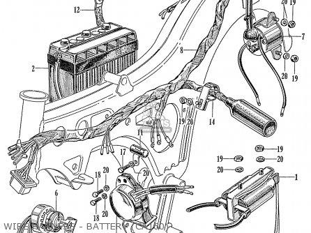 [DIAGRAM_38YU]  Honda CA160 TOURING 1966 USA parts lists and schematics | Honda Ca160 Wiring Diagram |  | Cmsnl.com