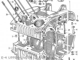 e-4 upper-under crankcase