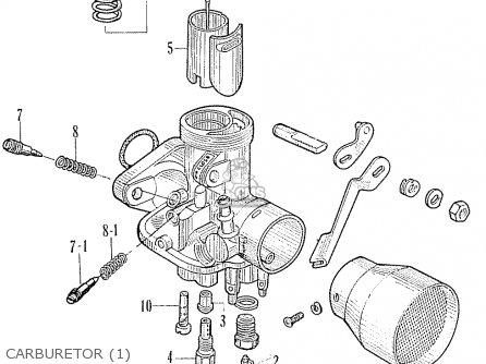 Honda Ca95 Benly  Usa 1320003 Carburetor 1