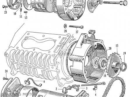 Honda Ca95 Benly  Usa 1320003 Starting Motor
