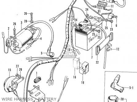 Honda Cb100k2 Super Sport Australia Parts Lists And Schematics