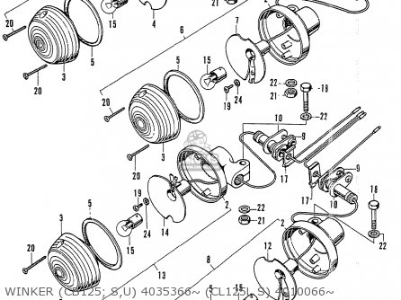 Cb125 Wiring Diagram
