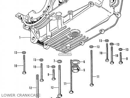 Honda Cb125k3 Lower Crankcase