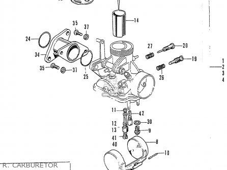 Honda Cb125k3 R  Carburetor