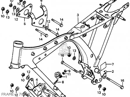 Honda Cb S Usa Frame Mediumhu F D on Honda Wiring Diagram 1972 Ss125