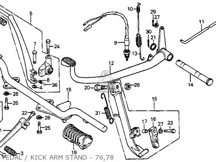 honda cb125s 1978 usa pedalkick arm stand 76 78_mediumhu0041f3316_3e6f 3 rpm electric motor 3 find image about wiring diagram,Electric Standing Fan Motor Wiring Diagram