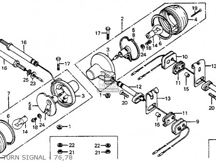 Partslist on Honda Overhead Valve Engine
