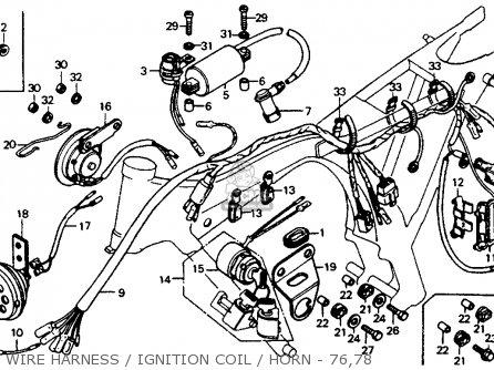 Cb125s Wiring Harness