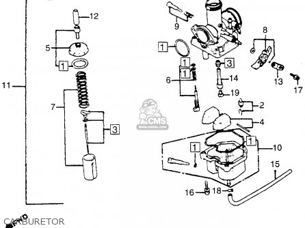 honda cb125s 1980 a usa parts list partsmanual partsfiche. Black Bedroom Furniture Sets. Home Design Ideas