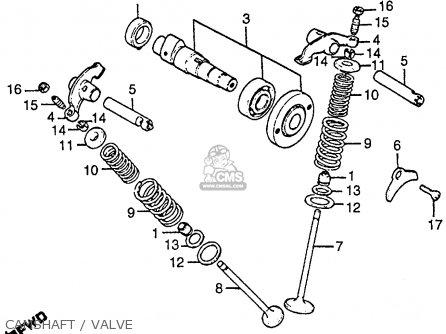 Honda Cb125s 1984 E Usa Parts Lists And Schematics