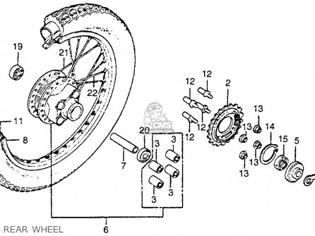 Honda 200x Atv Engine Diagram on wiringhonda