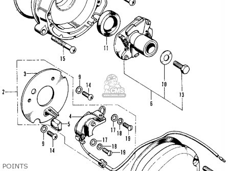 1974 honda cb125 wiring diagram honda cb125s s1 1974 usa parts list partsmanual partsfiche 1974 honda cl360 wiring diagram #9