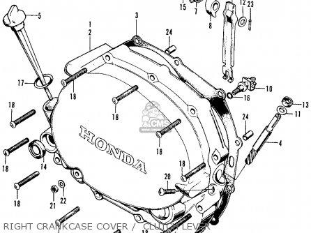 Honda Cb125s S2 1975 Usa Parts Lists And Schematics