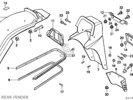 Honda Cb125td Superdream 1982 C Ireland Parts Lists And Schematics