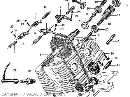 honda cb160 sport 1964 usa parts list partsmanual partsfiche 1964 honda 50 engine diagram #12